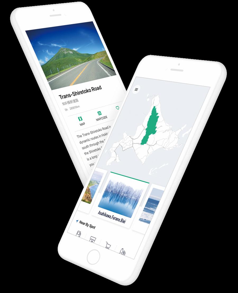 Introduction App   DRIVE HOKKAIDO!